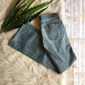 """7 For All Mankind- """"A"""" Pocket Jeans"""
